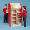 Double Sided Bookcase Height 1500mm  small