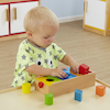 Wooden Shapes Sorting Box  small