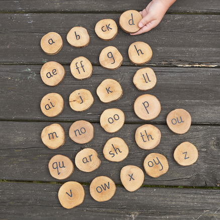 Outdoor Wooden 44 Sounds Pieces  large