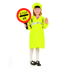 Role Play Dressing Up Crossing Patrol Outfit  medium