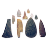 Stone Age Flint Artefacts Collection  small