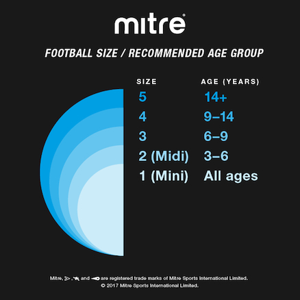 Mitre Primero 32 Panel Soft Touch Football Size 5  large