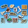 Toys Sort and Match Objects 30pk  small