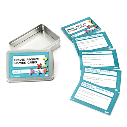 Maths Lesson Activity Cards Tin Set  large