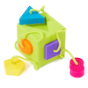 Tactile Shape Sorting Rubber Cube  small