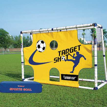 Football Goal with Shooting Target L183 x W130  large