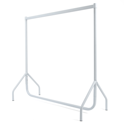 Clothes Rail White  large