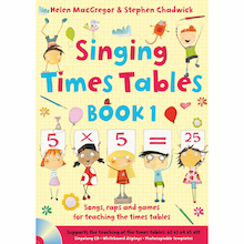 Singing Times Tables Book Pack  medium
