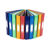 Gloss Ring Binders 10pk Multi  small