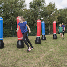 Self-Righting Inflatable Obstacle Shapes  medium
