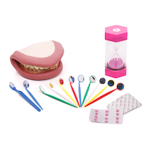 Human Dental Health and Teeth Kit  medium