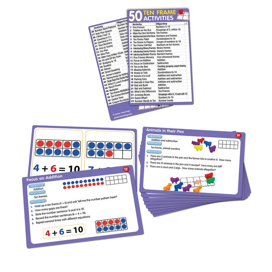 Buy 50 Ten Frame Activities Tts