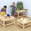 Toddler Wooden Nesting Tables 3pk  small