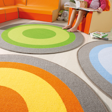 Circles Mat 4pk  medium