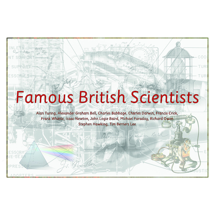 Famous British Scientists Poster And Resources  large