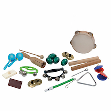 Beginners Percussion Instruments Pack  medium