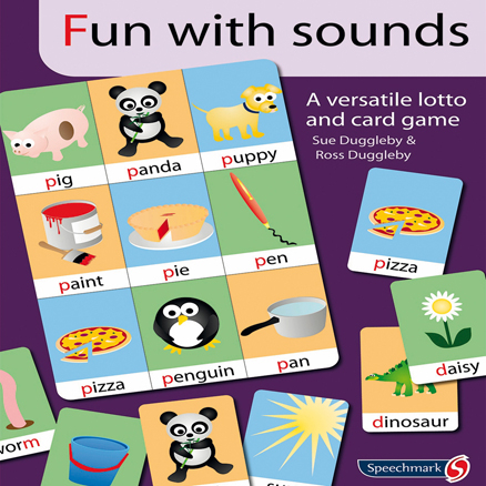 Fun With Sounds Speech Development Card Game  large