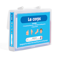 French Vocabulary Builders - Body Parts  medium