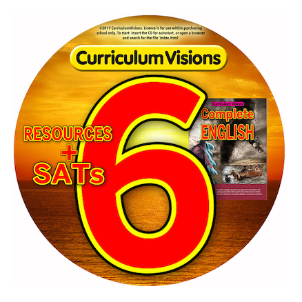 Curriculum Visions Complete English Year 6 with CD  large