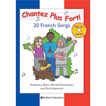 Chantez Plus Fort! French singing Book and CD  medium