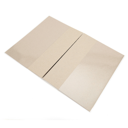 Clear Polythene Sketchbook Covers A3 10pk  large