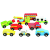 Wooden Vehicles 9pk  small