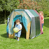 Outdoor Wooden Tunnel  small