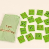 French Number Bean Bags 20pk  small