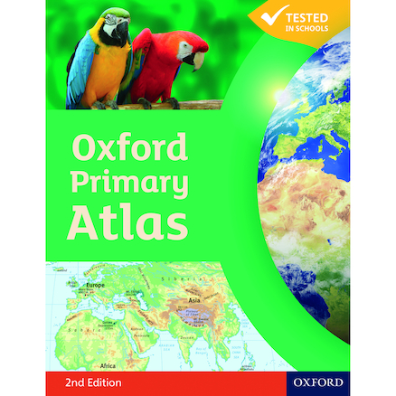 Oxford Primary Atlas  large