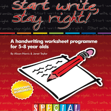 Start Write Stay Right 2 Handwriting Worksheets  medium
