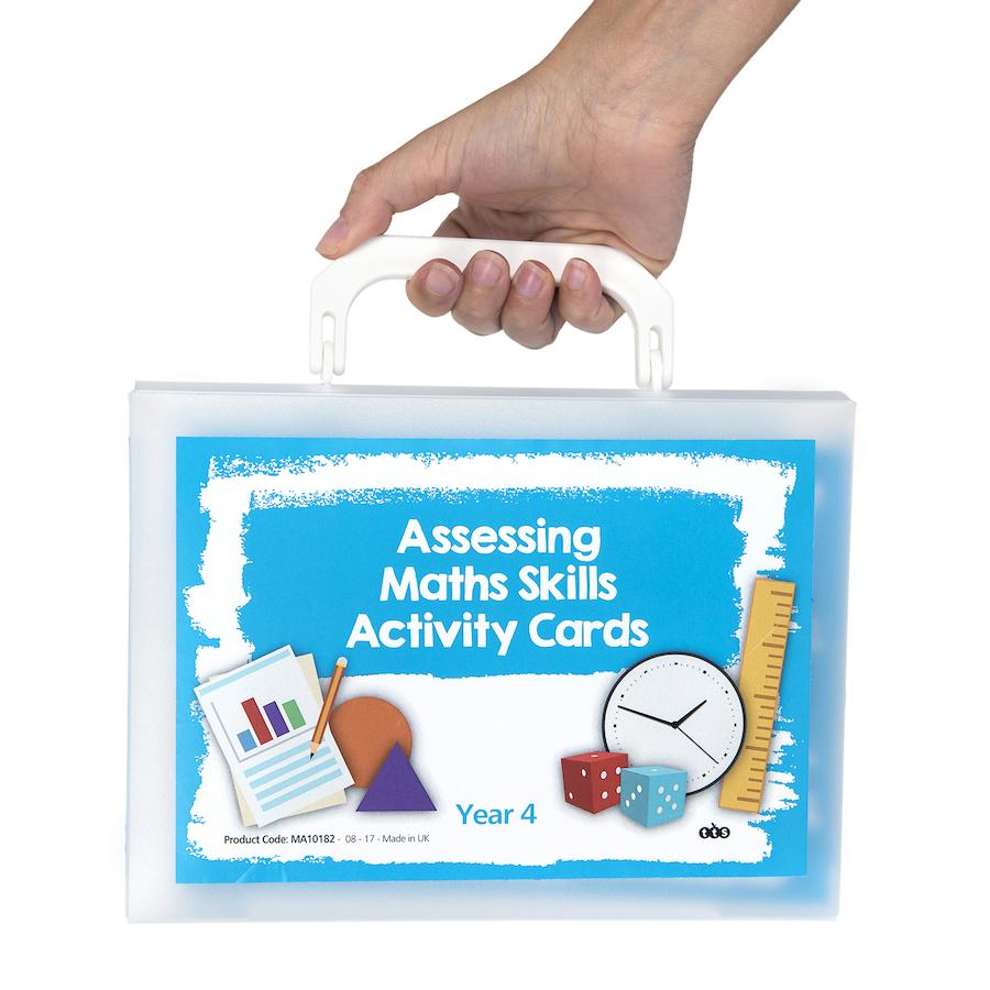Buy Assessing Maths Skills Activity Cards | TTS
