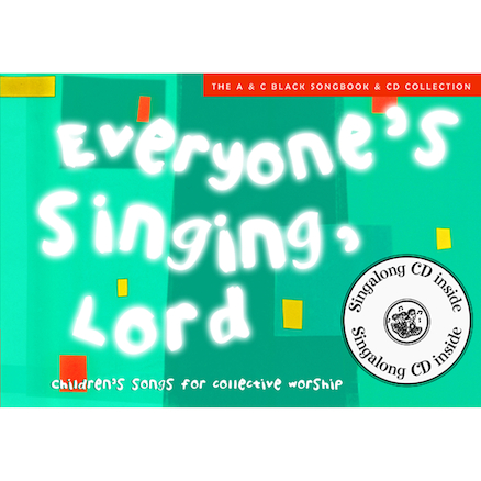 Everyones Singing Lord Book and CD  large