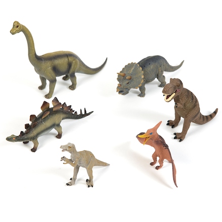 Small World Dinosaur Collection 6pcs  large