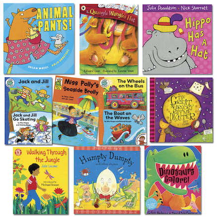 Rhyming Book Pack  large