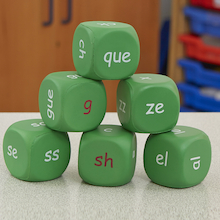 Phonics Alternative Grapheme Dice - Phase 5  medium