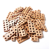 TTS Wooden Number Frames 80pcs  small