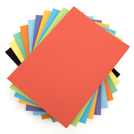 Intensive Coloured Card Assorted 230 Micron  large