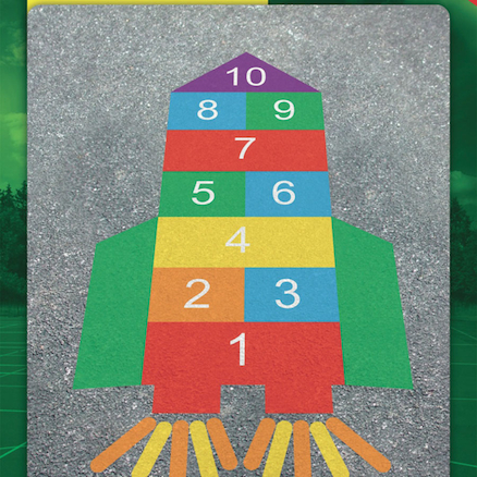 Maths Playground Markings Activities  large