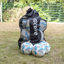 Mitre Impel Max Footballs and Storage Bag 12pk  medium