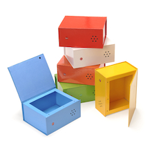 Rainbow Recordable Talking Boxes  medium