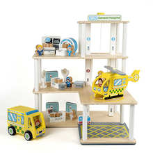 Small World Wooden Hospital Set  medium