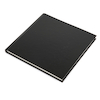 140gsm Hardback Sketchbook 200mm Square Black  small