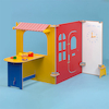 Caf\u00e9 and Tearoom Role Play Panels 3pcs  small
