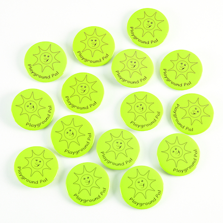 Playground Pal Button Badges 15pk  large