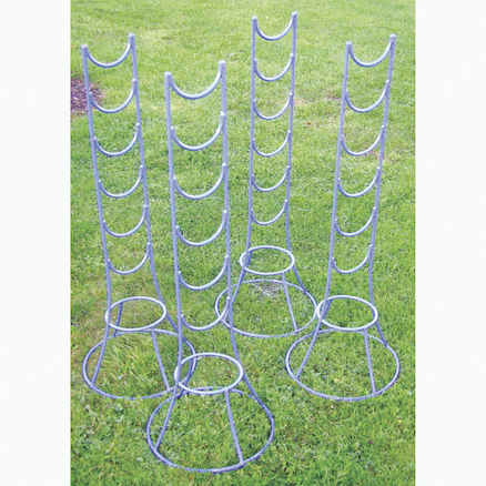 Outdoor Water Channelling Stands 4pk  large