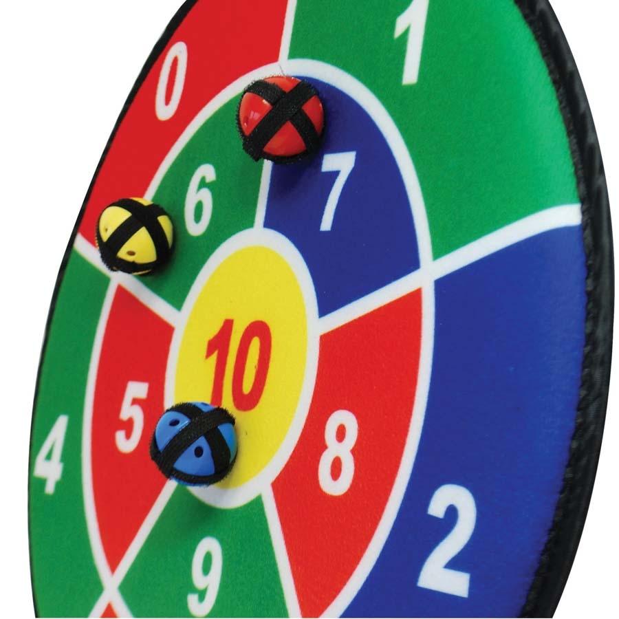 Buy Number Dartboards Adhesive Balls And Targets 3pk