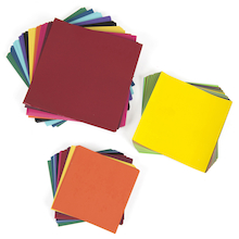 Gummed Paper Shapes Assorted   medium