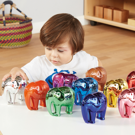 Metallic Elephant Number and Counting Set 1\-10  large