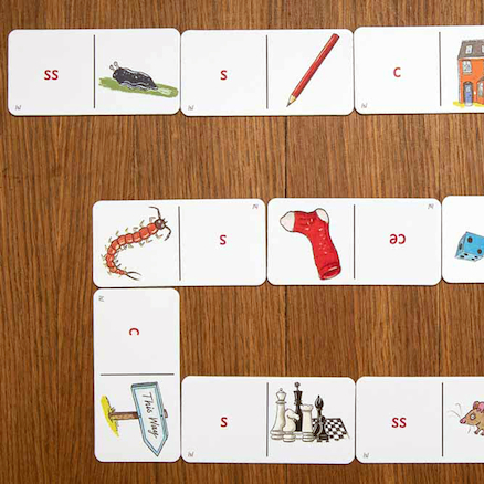 44 Sounds and Spelling Dominoes   large