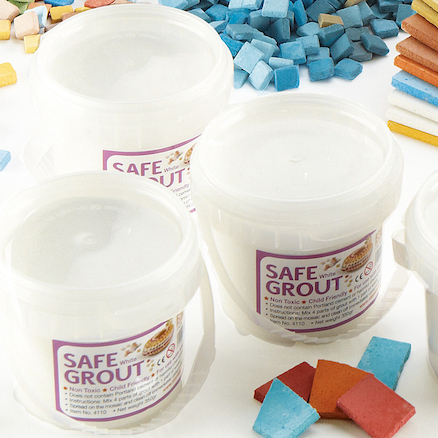 Super Safe Mosaic Tile Grout 350g 4pk  large